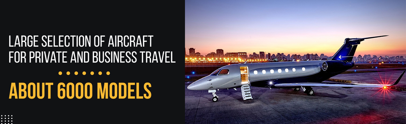 official catalog of business jets of Cyprus
